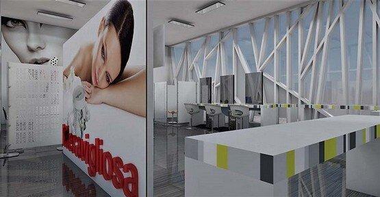 Designer1995 studio architettura arredamento contract for Arredamento centri estetici